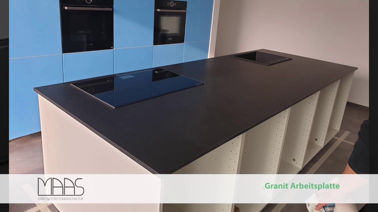 Full Size of Granit Arbeitsplatte Stuttgart Nero Assoluto Zimbabwe Youtube Arbeitsplatten Küche Granitplatten Sideboard Mit Wohnzimmer Granit Arbeitsplatte
