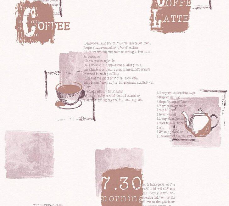 Medium Size of Tapete Küche Kaffee Kche Coffee Rezepte Wei Braun As Creation 32733 2 Landhausküche Kaufen Günstig Holzbrett Wandfliesen Planen Kostenlos Kräutergarten Wohnzimmer Tapete Küche Kaffee