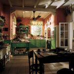 Küche Landhaus Grün Englische Landhauskche Mit Charme Edle Kchen Laminat In Der Gardinen Für Die Industrie Gewinnen Schnittschutzhandschuhe Möbelgriffe Wohnzimmer Küche Landhaus Grün