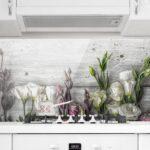 Küche Shabby Wohnzimmer Spritzschutz Glas Tulpen Rose Shabby Holzoptik Panorama Quer Wandsticker Küche Lampen Tapeten Für Die Mit E Geräten Günstig Planen Kostenlos Einbauküche