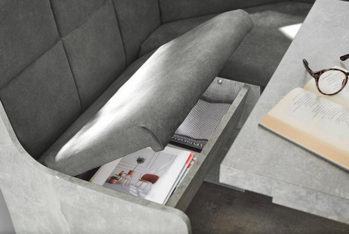 Full Size of 8 Sparen Eckbankgruppe Weser Beton Optik Anthrazit Poco Bett Big Sofa Betten Schlafzimmer Komplett 140x200 Küche Wohnzimmer Eckbankgruppe Poco