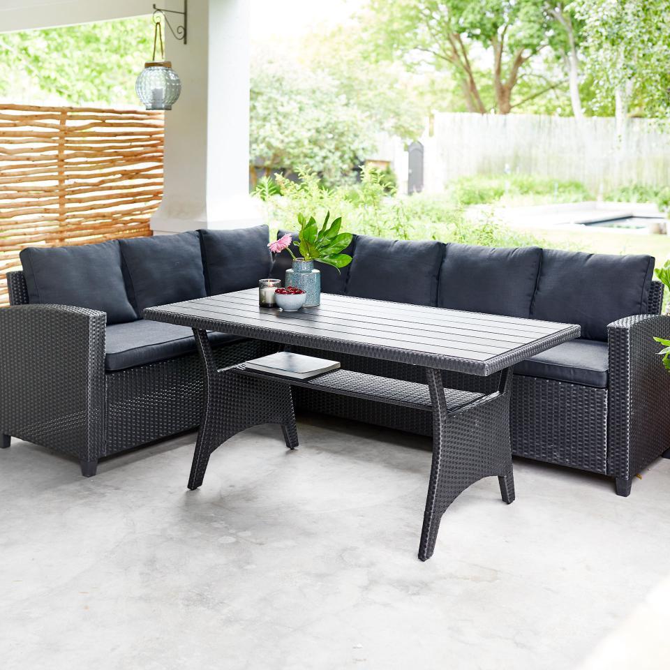 Full Size of Eck Sofa Set Ullehuse Schwarz Wohnzimmer Garten Ecksofa Set Memphis