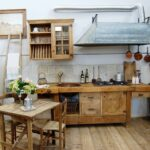 Küchen Rustikal Von Porte Del Passato Kchen Rustikaler Esstisch Regal Holz Rustikales Bett Küche Wohnzimmer Küchen Rustikal