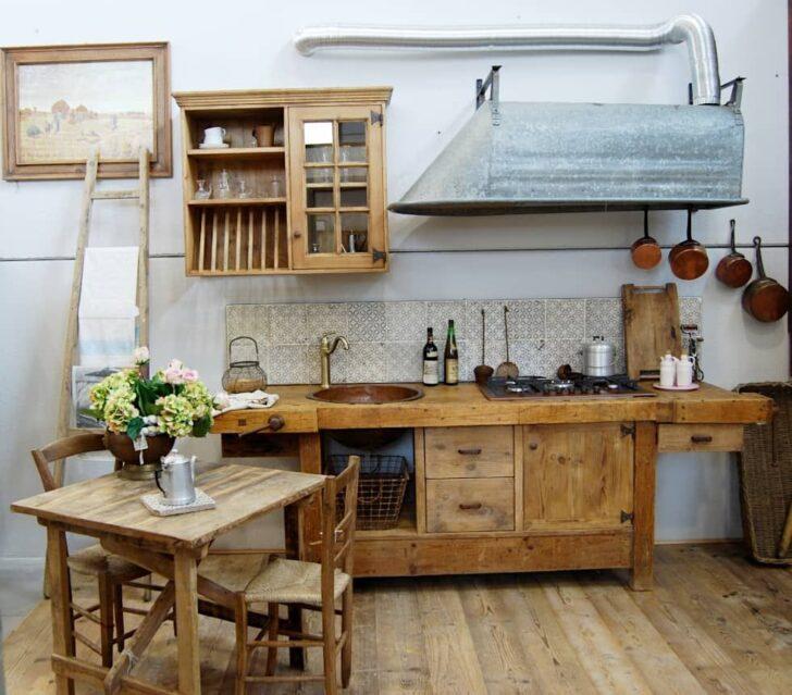 Medium Size of Küchen Rustikal Von Porte Del Passato Kchen Rustikaler Esstisch Regal Holz Rustikales Bett Küche Wohnzimmer Küchen Rustikal