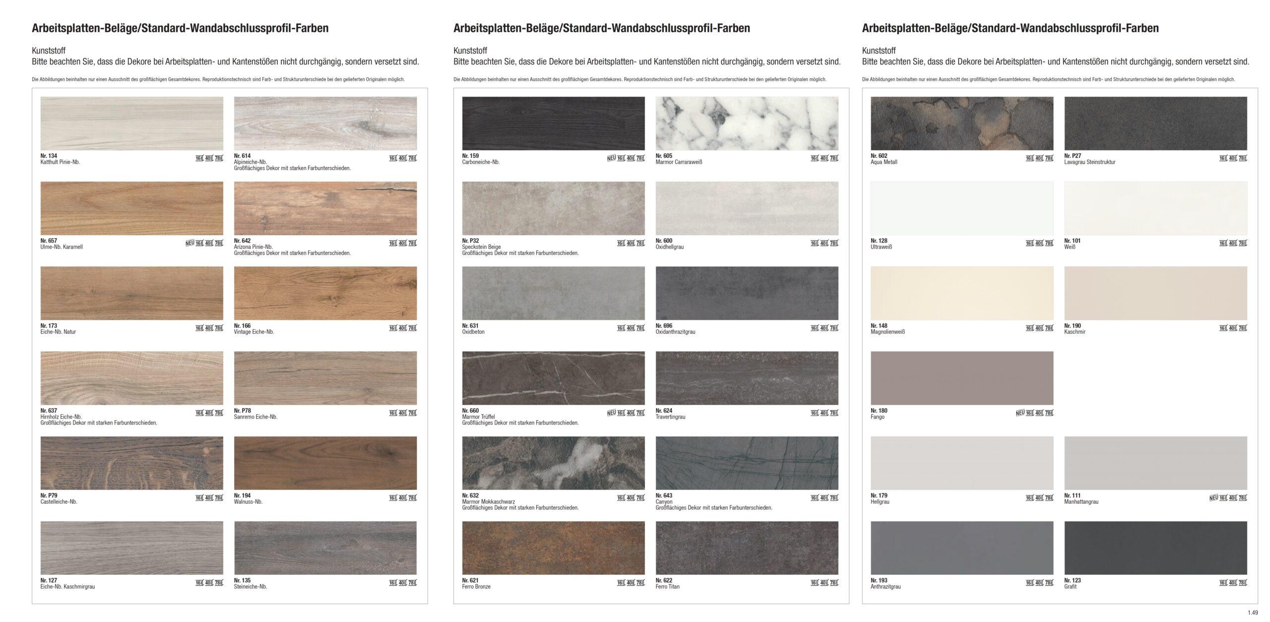 Full Size of Alno Küchen Original Wandabschlussprofil Gruppe Zubehr Regal Küche Wohnzimmer Alno Küchen