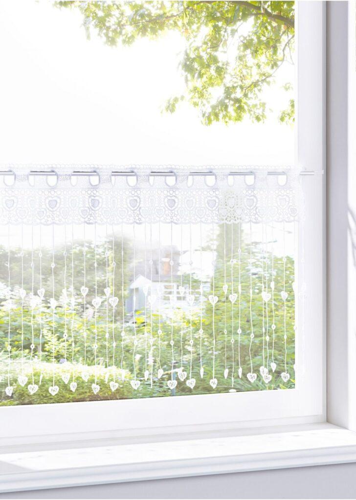 Medium Size of Kchengardine Aus Bestickten Fden Wei Arbeitsplatte Küche Arbeitsschuhe Waschbecken Hängeschrank Glastüren Pendelleuchten Wellmann Einhebelmischer Weisse Wohnzimmer Bonprix Vorhänge Küche