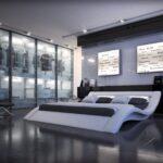 Innocent Bett Polsterbett Designerbett Luxusbett Design Doppelbett Flach Kopfteil Ausgefallene Betten überlänge 190x90 Mit Aufbewahrung Podest Schwebendes Wohnzimmer Innocent Bett