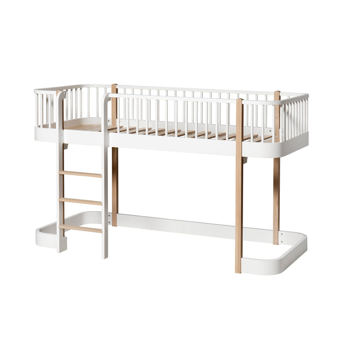 Large Size of Halbhohes Hochbett Wood Baby Kochs Gmbh Co Bett Wohnzimmer Halbhohes Hochbett