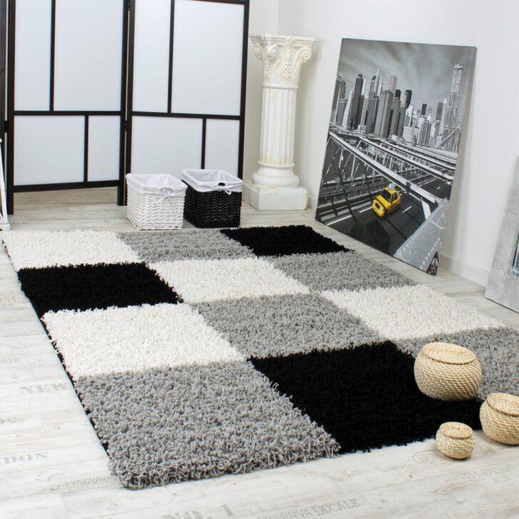 Medium Size of Teppich Schwarz Weiß Hochglanz Regal Bad Hängeschrank Wohnzimmer Schlafzimmer Weiße Regale Bett 90x200 Mit Schubladen 200x200 Set 120x200 Badezimmer Wohnzimmer Teppich Schwarz Weiß