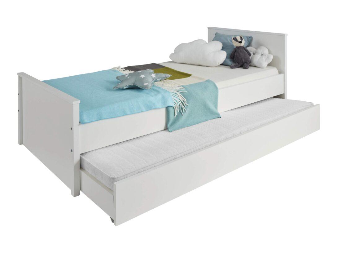 Large Size of Bett 90x200 Mit Lattenrost Und Matratze Schubladen Weiß Betten Bettkasten Weißes Kiefer Wohnzimmer Jugendbett 90x200