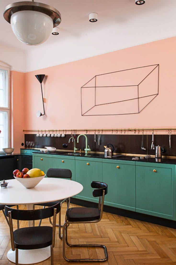 Full Size of Kche Mit Bauhaus Mbeln Einrichten Holzofen Küche Eckbank Ikea Kosten Nobilia Granitplatten Eckunterschrank Für Singleküche Eckschrank Sockelblende Wohnzimmer Rosa Küche