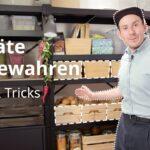 Ikea Vorratsschrank Lebensmittel Richtig Lagern Tipps Tricks Youtube Modulküche Betten Bei Küche Kosten Miniküche 160x200 Kaufen Sofa Mit Schlaffunktion Wohnzimmer Ikea Vorratsschrank