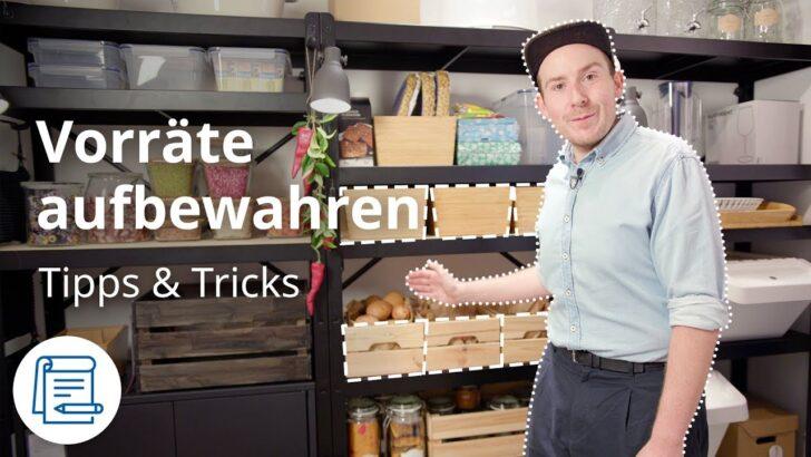 Medium Size of Ikea Vorratsschrank Lebensmittel Richtig Lagern Tipps Tricks Youtube Modulküche Betten Bei Küche Kosten Miniküche 160x200 Kaufen Sofa Mit Schlaffunktion Wohnzimmer Ikea Vorratsschrank