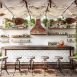 Küchen Rustikal Esstisch Holz Küche Regal Rustikaler Rustikales Bett Wohnzimmer Küchen Rustikal