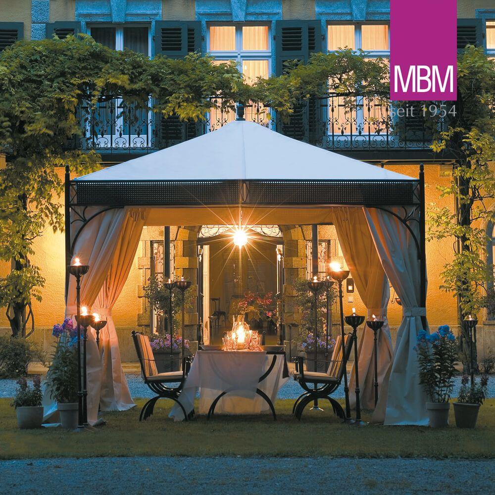 Full Size of Pavillon Eisen Mit Dach Romeo Aus Metall Mbm Garten Wohnzimmer Pavillon Eisen