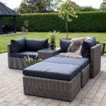 Terrassen Lounge Set Tolofo Aus Kunstrattan In Graubraun Und Wohnzimmer Couch Terrasse
