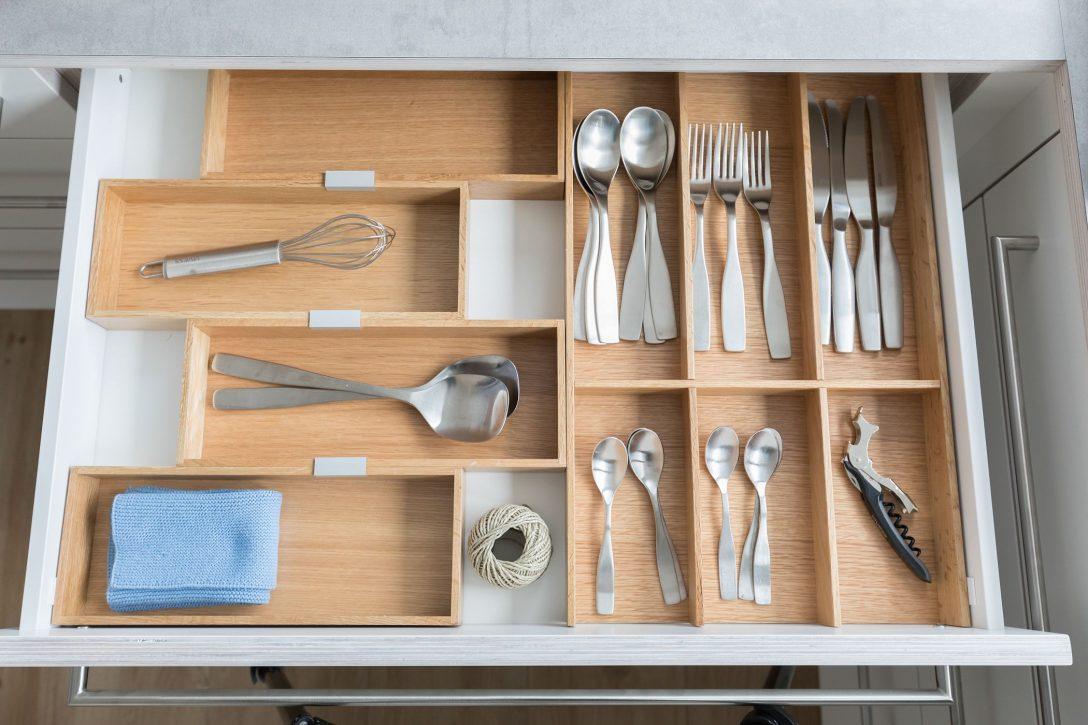 Full Size of Nobilia Besteckeinsatz Kche Schubladeneinsatz Variabel Leicht Einbauküche Küche Wohnzimmer Nobilia Besteckeinsatz