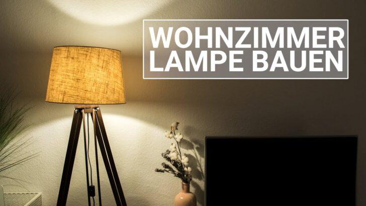 Medium Size of Wohnzimmer Leuchte Selber Bauen Lampe Machen Beleuchtung Led Selbst Holz Diy Youtube Deckenlampe Bogenlampe Esstisch Einbauküche Deckenlampen Regale Wohnzimmer Wohnzimmer Lampe Selber Bauen