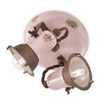 Deckenlampe Industrial 2 Strahler Im Design Angie Ferroluce Bad Deckenlampen Wohnzimmer Küche Für Schlafzimmer Esstisch Modern Wohnzimmer Deckenlampe Industrial