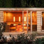Saunahaus Modern Gartensauna Moderne Landhausküche Küche Weiss Holz Esstisch Deckenlampen Wohnzimmer Tapete Deckenleuchte Bilder Fürs Esstische Bett Design Wohnzimmer Saunahaus Modern