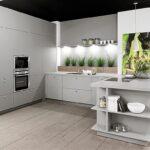 Moderne Küchen U Form Wohnzimmer U Kche Zerohpl Grigio Dusche Bodengleich Fenster Mit Eingebauten Rolladen Rauch Betten Sichtschutzfolie Einseitig Durchsichtig Soft Plus Regal Glasabtrennung