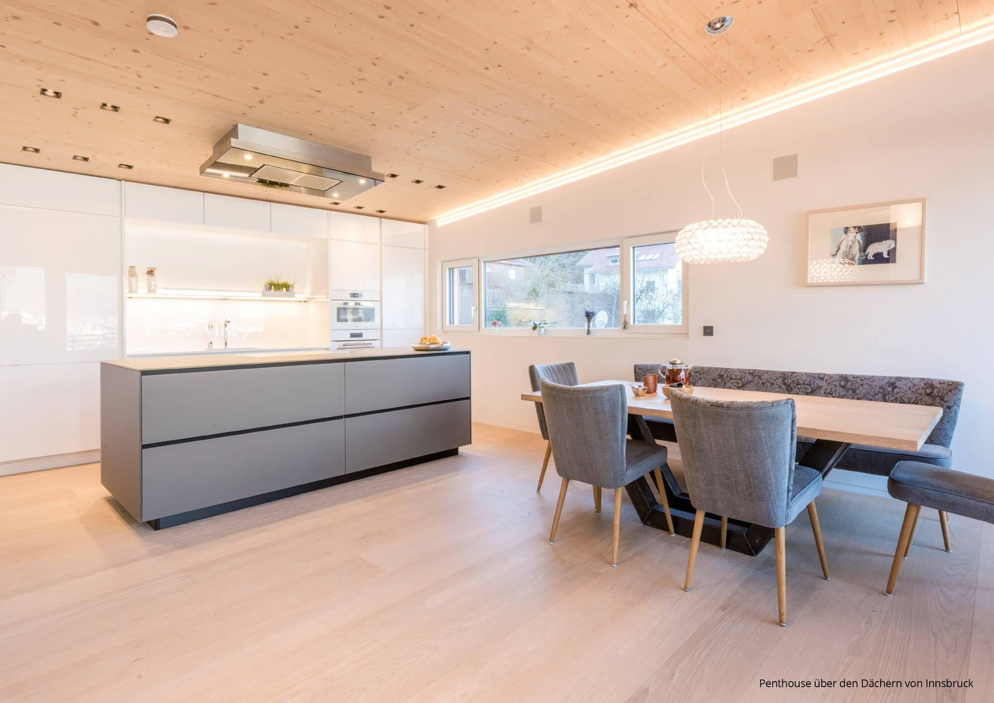 Full Size of Beispiele Fr Offene Kchen 7 Ideen Als Inspiration Deine Modulküche Holz Ikea Wohnzimmer Cocoon Modulküche