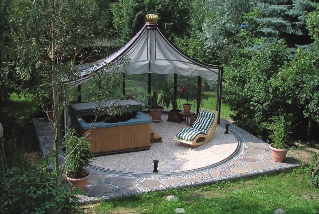 Large Size of Pavillon Rund Gartenpavillon Eisen Ersatzdach 3m Pavillion Metall Garten Wohnzimmer Pavillon Eisen
