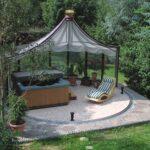 Pavillon Eisen Wohnzimmer Pavillon Rund Gartenpavillon Eisen Ersatzdach 3m Pavillion Metall Garten