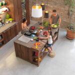 Kücheninsel Freistehend Kcheninsel Mae Wie Gro Sollte Eine Kochinsel Mindestens Sein Freistehende Küche Wohnzimmer Kücheninsel Freistehend