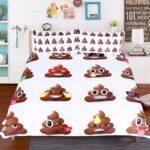 Bettwäsche Lustig Wohnzimmer Moonpalace Emoji Bettwsche Set Queen Size Fr Lustige T Shirt Sprüche Bettwäsche T Shirt