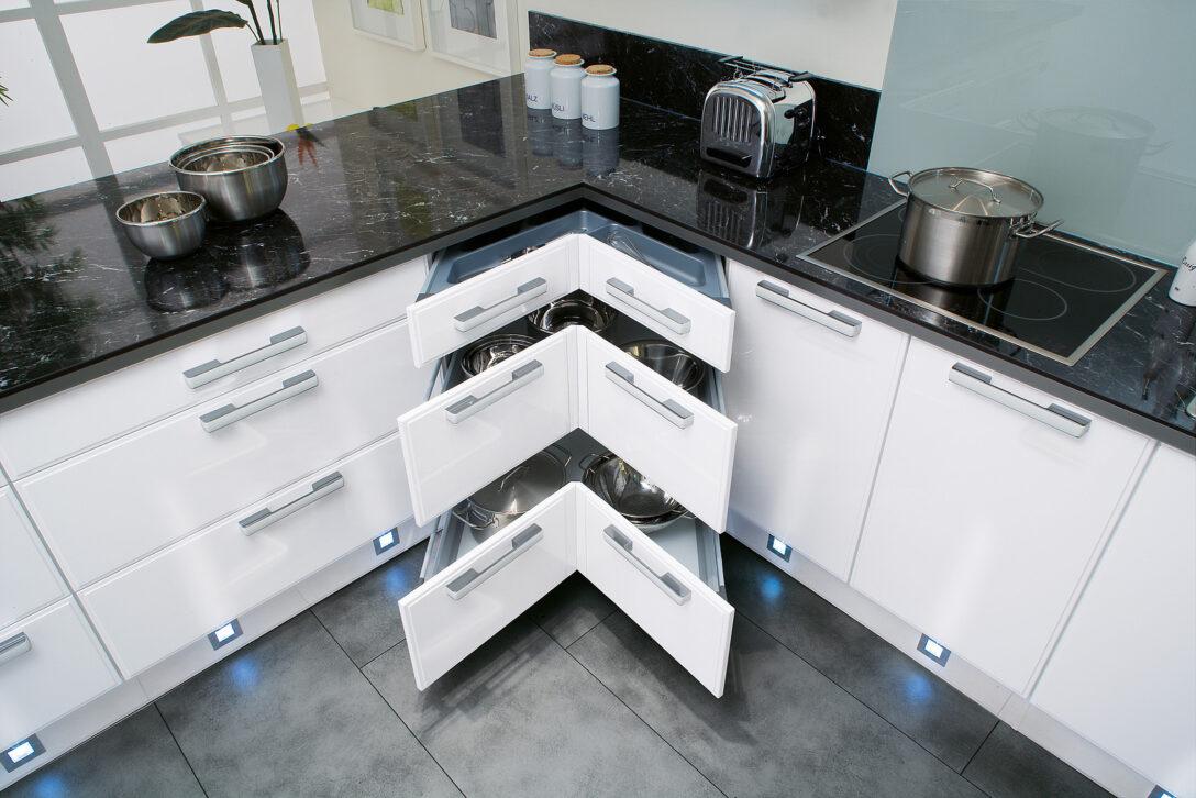 Large Size of Eckschrank In Der Kche Alle Ecklsungen Im Berblick Wohnzimmer Küchenkarussell