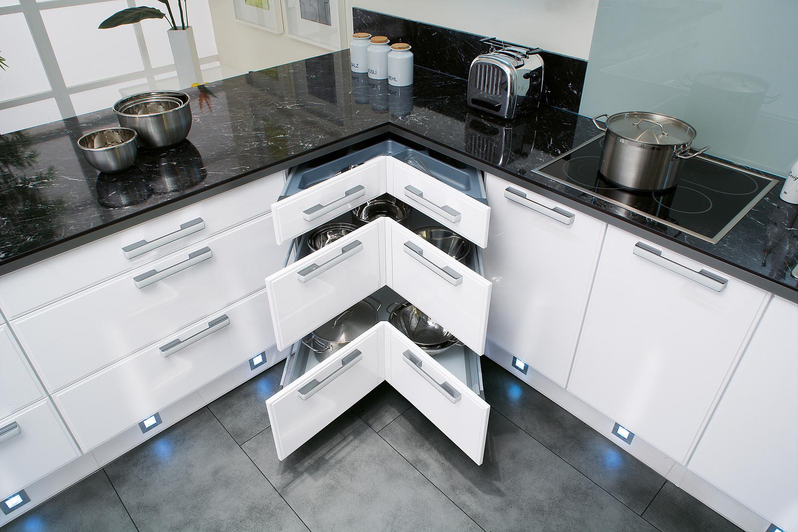 Full Size of Eckschrank In Der Kche Alle Ecklsungen Im Berblick Wohnzimmer Küchenkarussell