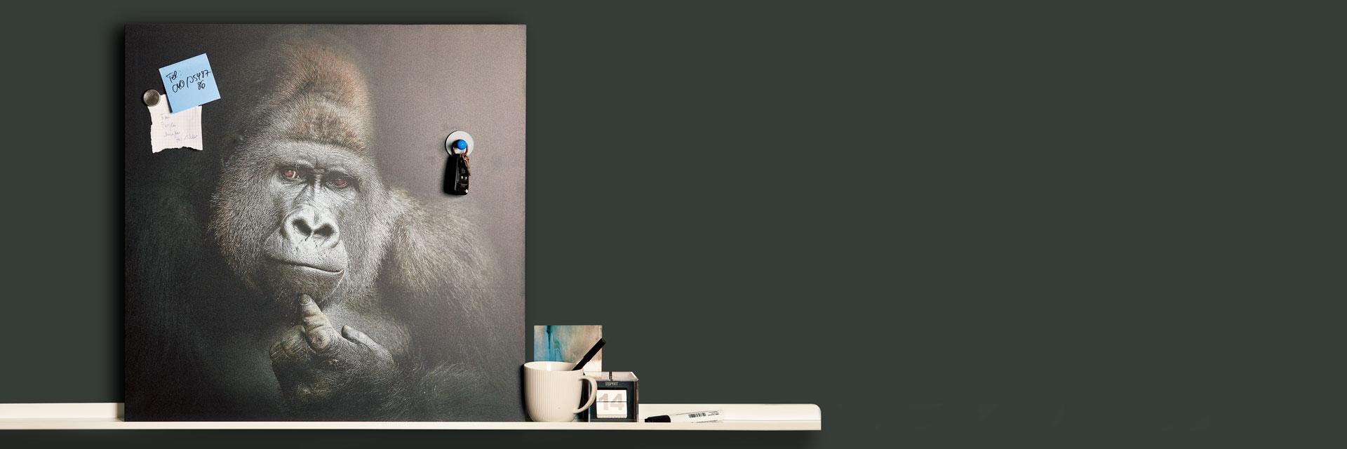 Full Size of Magnetwand Küche Magnetbilder Knstlerisch Beduckte Magnettafeln Von Kunstkopiede Vinylboden Modulküche Ikea Tapeten Für Günstige Mit E Geräten Wohnzimmer Magnetwand Küche