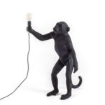 Wohnzimmer Lampe Stehend Holz Klein Ikea Led Leuchte The Monkey Lamp Schwarz Seletti Hotel Ultra Schlafzimmer Lampen Esstisch Deckenlampen Modern Gardinen Wohnzimmer Wohnzimmer Lampe Stehend