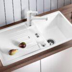 Waschbecken Küche Weiß Blanco Lexa 45 S Kchensple Pino Fliesenspiegel Glas Handtuchhalter Einhebelmischer Wellmann Wasserhähne Sitzecke Eiche Bad Kommode Wohnzimmer Waschbecken Küche Weiß