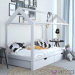 Kinderbett Mädchen 90x200 Weißes Bett Weiß Mit Schubladen Kiefer Bettkasten Lattenrost Betten Und Matratze Wohnzimmer Kinderbett Mädchen 90x200