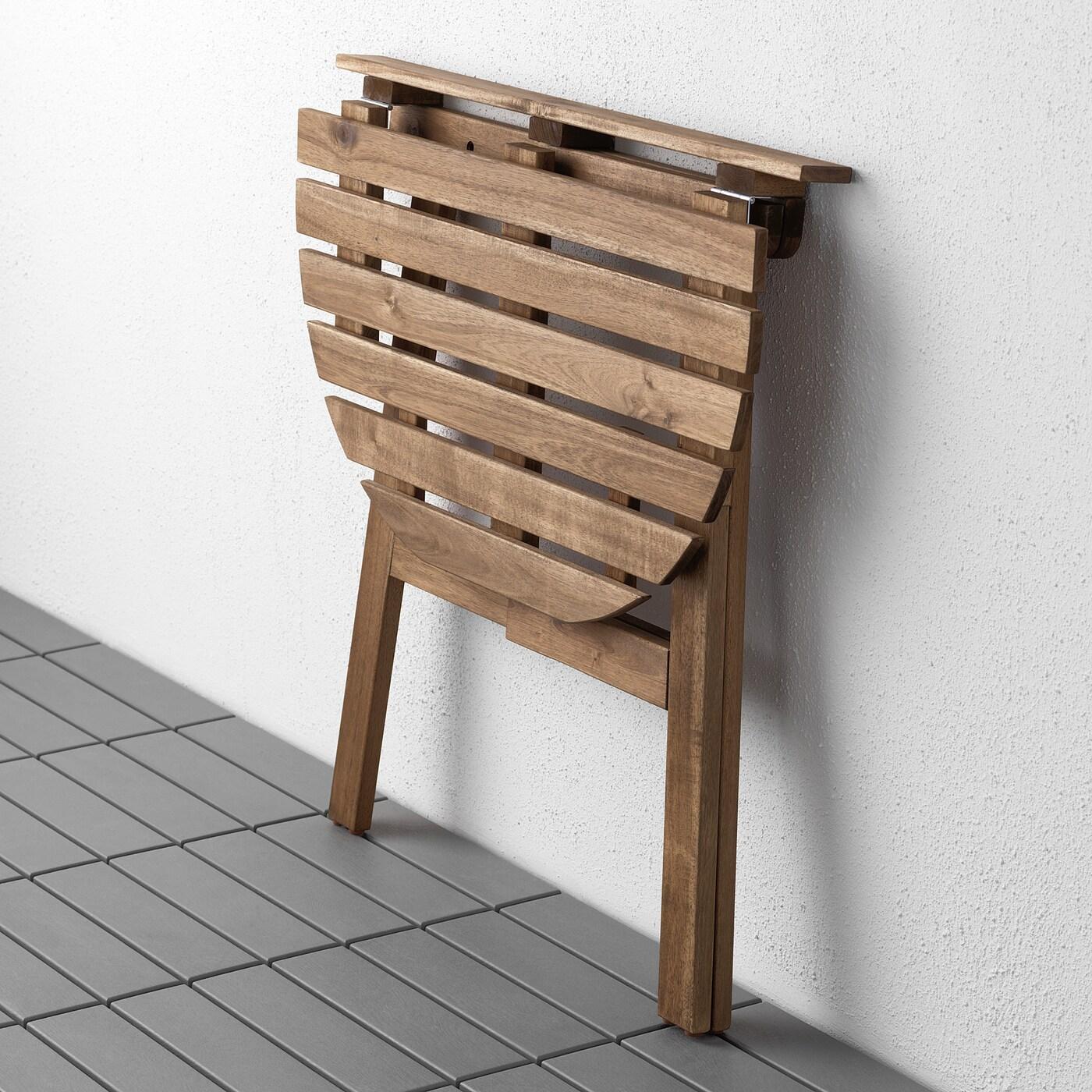 Full Size of Klapptisch Askholmen Wandtisch Auen Klappbar Hellbraun Lasiert Küche Garten Wohnzimmer Wand:ylp2gzuwkdi= Klapptisch