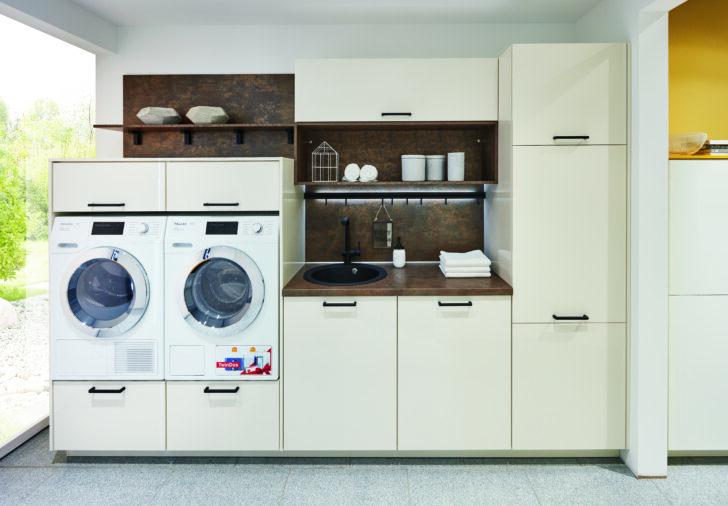 Medium Size of Küchenzeile Mit Waschmaschine Einen Hauswirtschaftsraum Planen Und Praktisch Einrichten Kcheco Sofa Relaxfunktion Abnehmbaren Bezug Bett 160x200 Lattenrost Wohnzimmer Küchenzeile Mit Waschmaschine