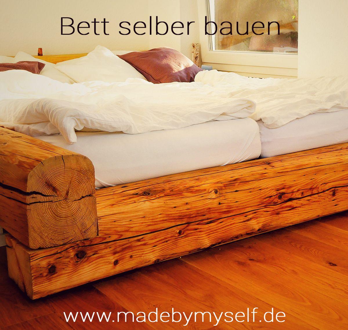 Full Size of Bauanleitung Bauplan Palettenbett Balkenbett Bett Selber Bauen Wohnzimmer Bauanleitung Bauplan Palettenbett