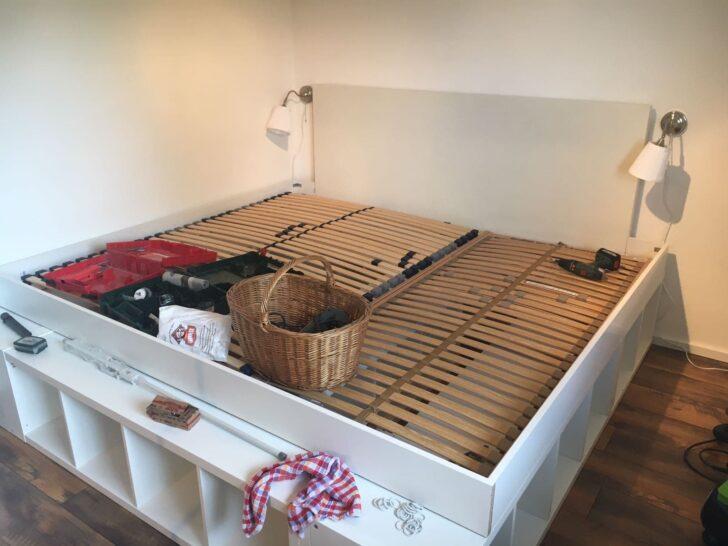 Medium Size of Rausfallschutz Selbst Gemacht Familienbett Aus Kallaregalen Einfach Selber Machen Küche Zusammenstellen Bett Wohnzimmer Rausfallschutz Selbst Gemacht