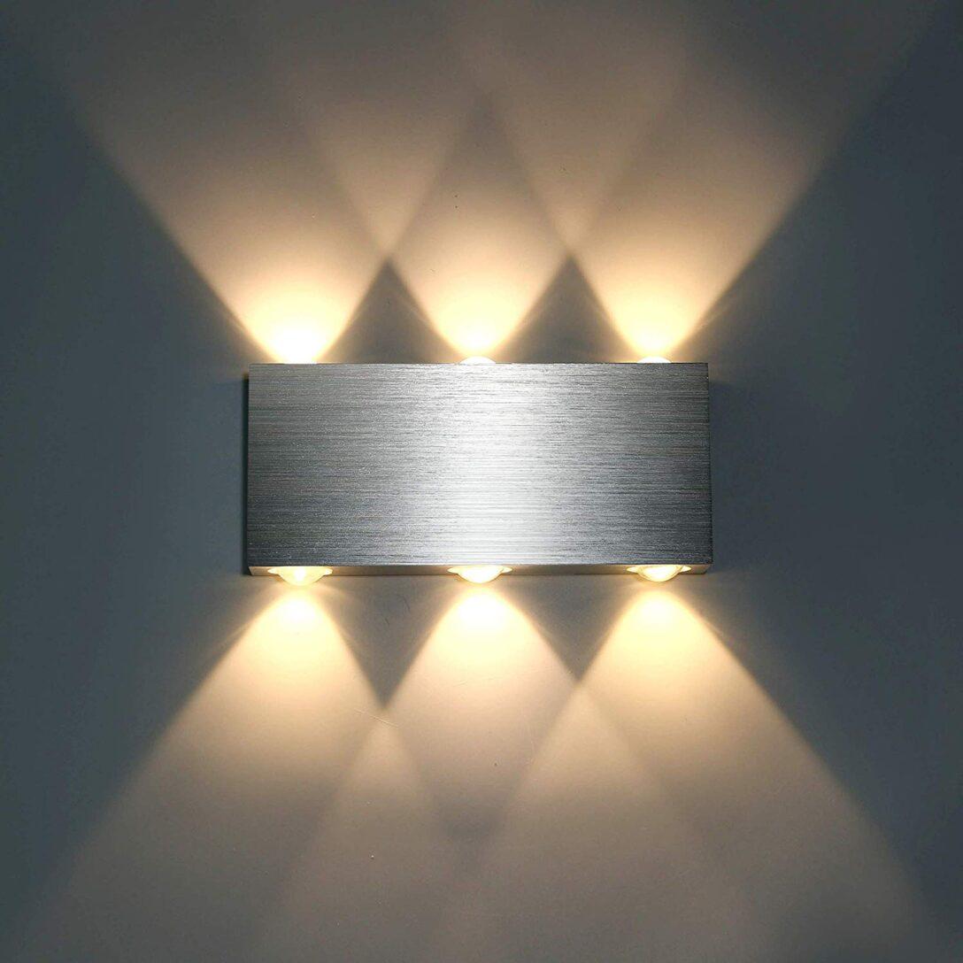 Large Size of 12w Led Wandleuchte Innen Modern Wandlampe Wohnzimmer Schlafzimmer Stehlampe Schrank Klimagerät Für Komplett Massivholz Tapeten Weißes Teppich Truhe Set Mit Wohnzimmer Schlafzimmer Wandlampen
