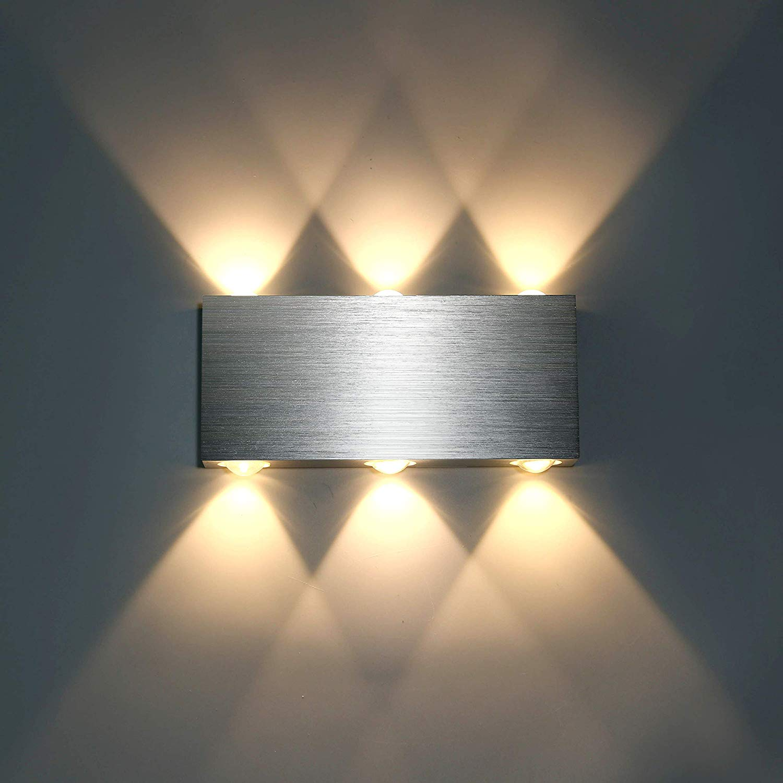Full Size of 12w Led Wandleuchte Innen Modern Wandlampe Wohnzimmer Schlafzimmer Stehlampe Schrank Klimagerät Für Komplett Massivholz Tapeten Weißes Teppich Truhe Set Mit Wohnzimmer Schlafzimmer Wandlampen