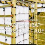 Gartenpirat Klettergerst Garten Outdoor Spielplatz Aufbau Klettergerüst Wohnzimmer Kidwood Klettergerüst
