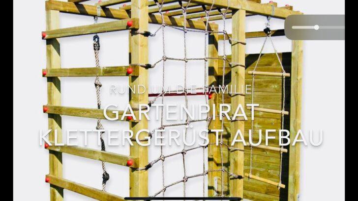 Medium Size of Gartenpirat Klettergerst Garten Outdoor Spielplatz Aufbau Klettergerüst Wohnzimmer Kidwood Klettergerüst
