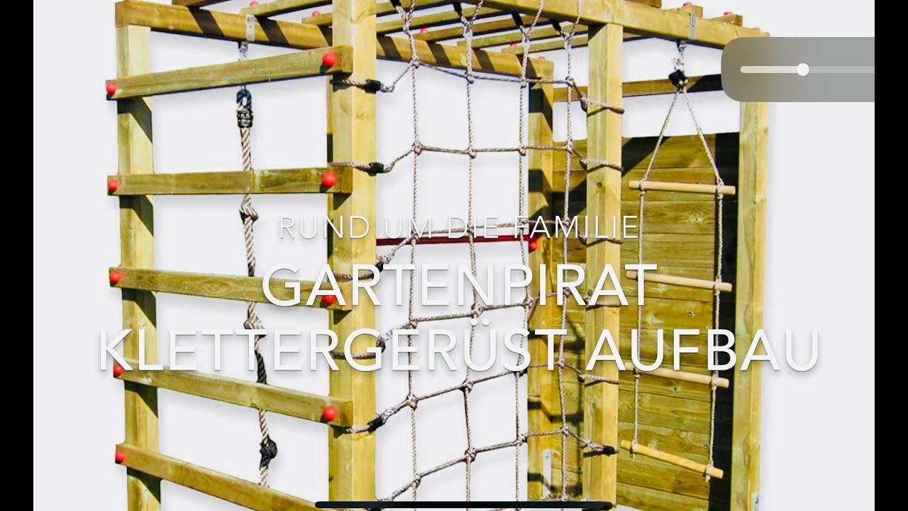 Full Size of Gartenpirat Klettergerst Garten Outdoor Spielplatz Aufbau Klettergerüst Wohnzimmer Kidwood Klettergerüst
