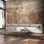 Wohnzimmer Wandbild Vlies Fototapete Steinwand Stein Gypten 3d Tapete Wandbilder Xxl Heizkörper Hängeleuchte Deckenleuchte Deckenlampe Liege Pendelleuchte Wohnzimmer Wohnzimmer Wandbild