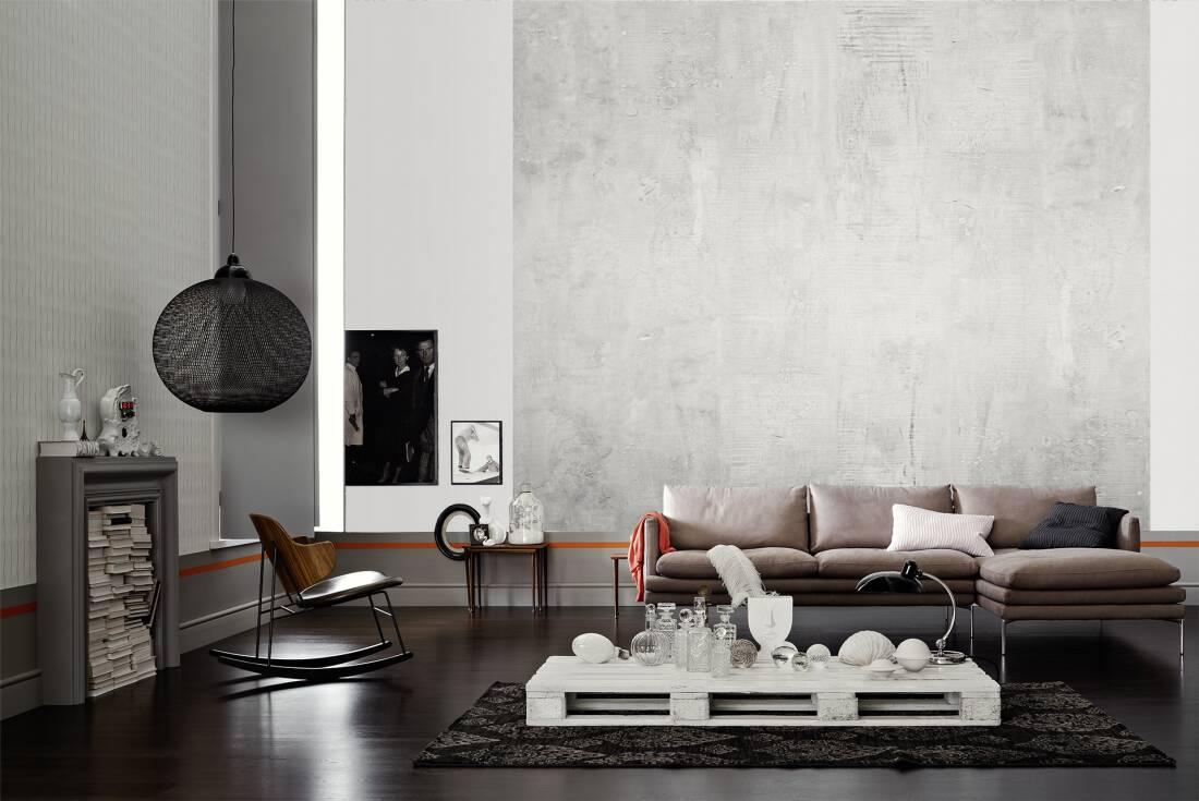 Full Size of Fototapete Grau Livingwalls Wand 470921 Sofa Stoff Weiß Esstisch Xxl Wohnzimmer Graues Bett Küche Regal Big 2er 3er Hochglanz Wohnzimmer Fototapete Grau