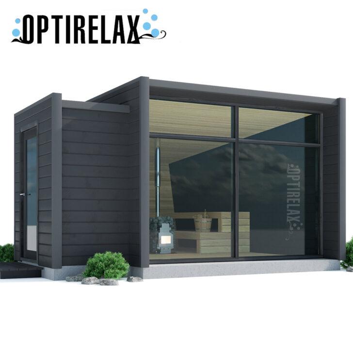 Medium Size of Gartensauna Bausatz Xl Outdoor Sauna Optirelastyle Mit Umkleide Optirelax Wohnzimmer Gartensauna Bausatz
