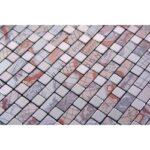 Selbstklebende Mosaikfliesen Venedig Kupfer Blau Grau Bad Bodenfliesen Wandfliesen Küche Begehbare Dusche Fliesen Badezimmer Fliesenspiegel Glas Holzfliesen Wohnzimmer Selbstklebende Fliesen