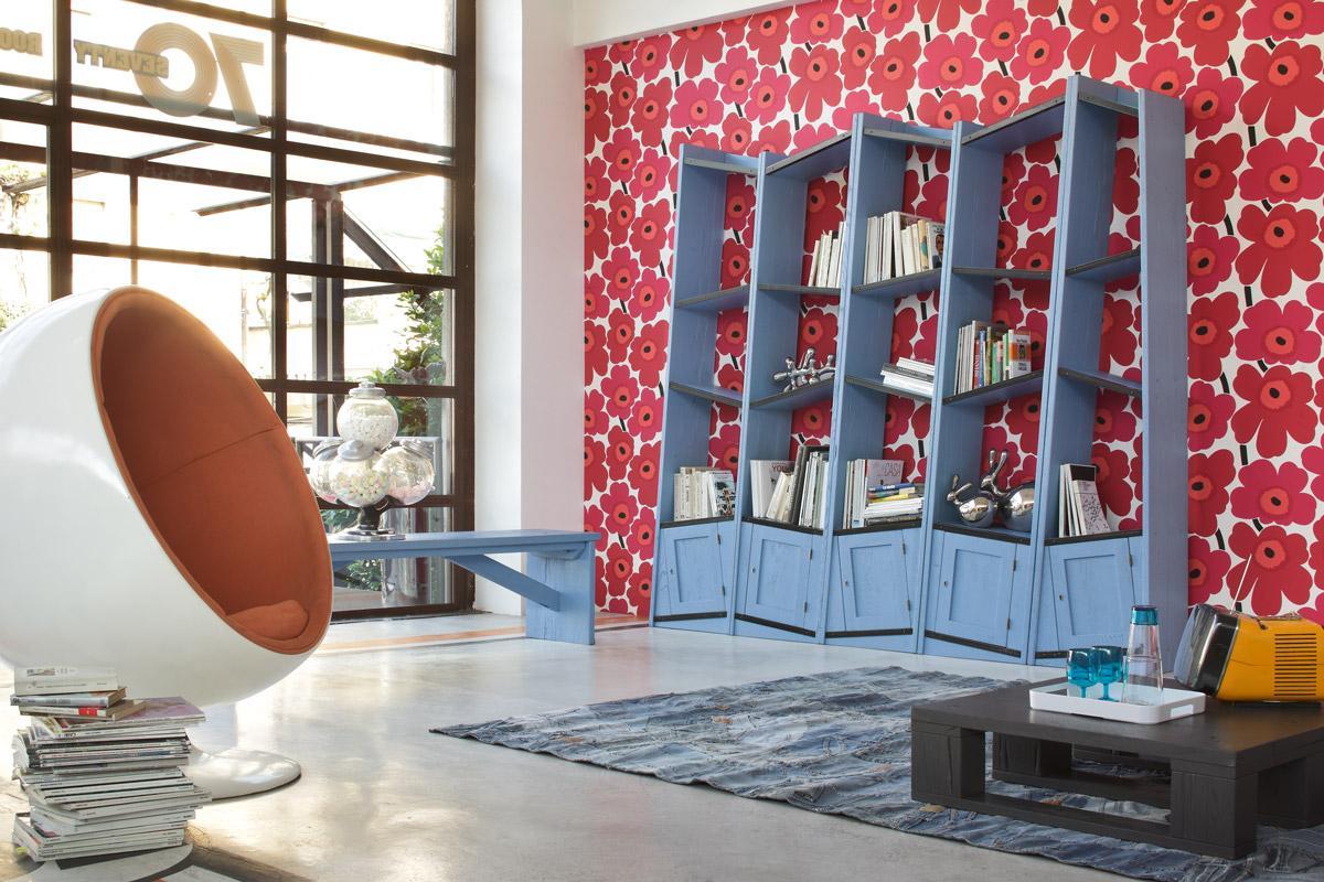 Full Size of Retro Regal Pisa Wandregal Bcherregal Wood4u C 25 Cm Tief Leiter Moormann Babyzimmer Kisten Schäfer Regale Aus Obstkisten Hamburg Industrie Kanban Mit Wohnzimmer Retro Regal